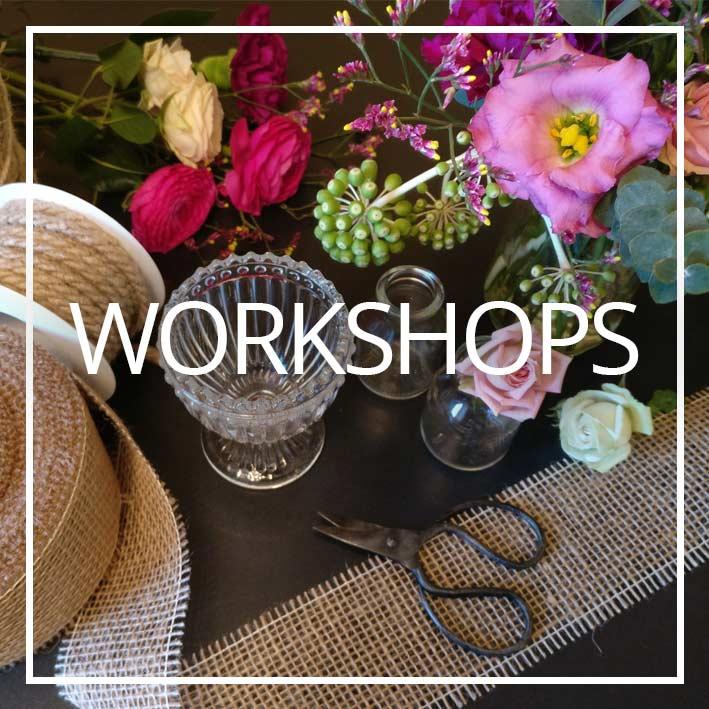 Button Wildflower Workshops