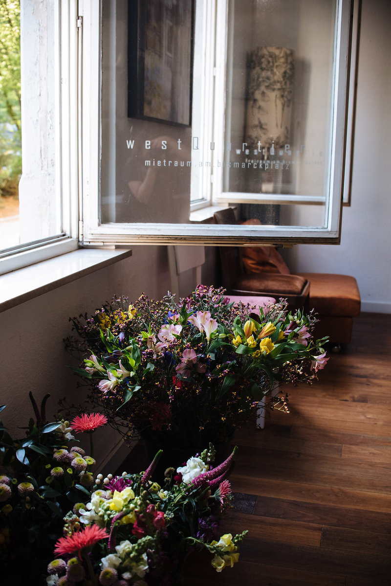 Frühlingsblumen für den Workshop von Wildflower im Westquartier Stuttgart