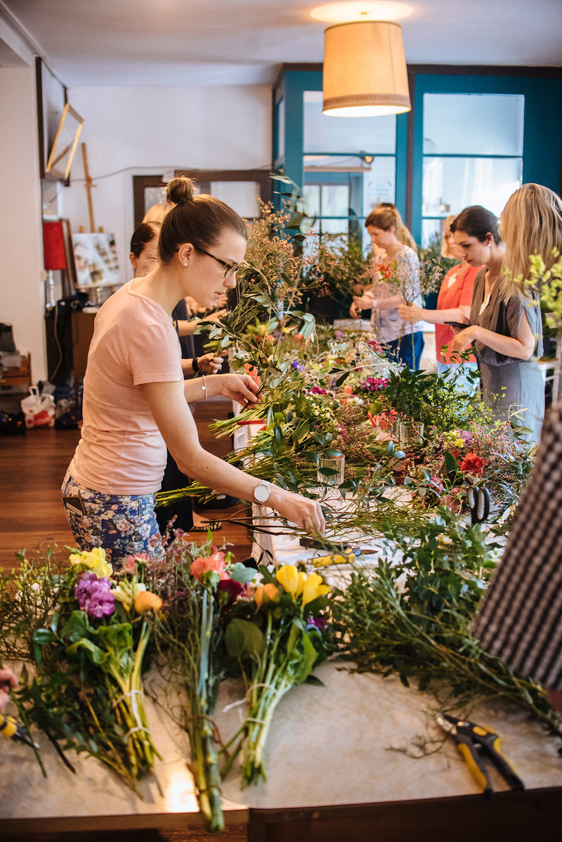 Wildflower Workshop im Westquartier in Stuttgart